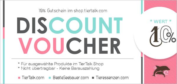 10% Newsletter Discount auf TierTalk.com