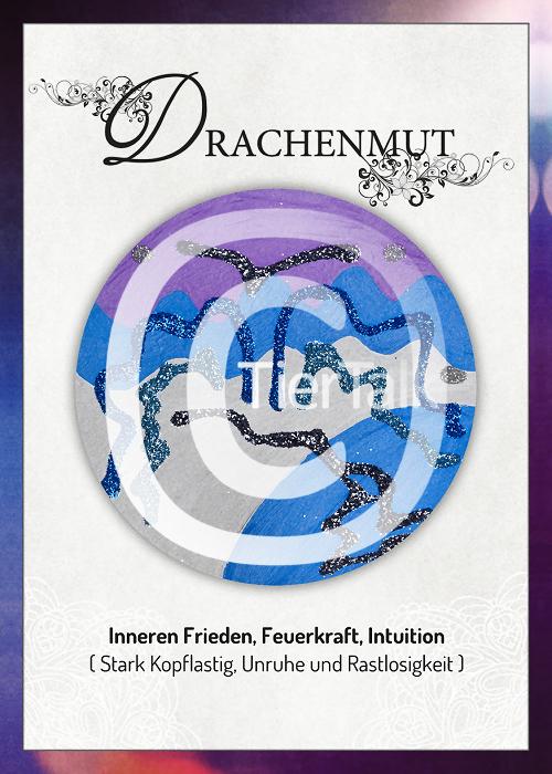 Tiersymbolkarte Drachenmut