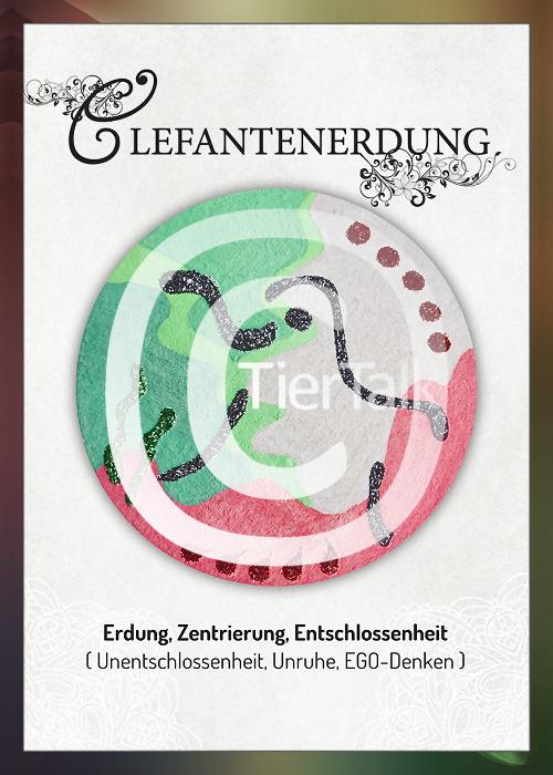 Tiersymbolkarte Elefantenerdung