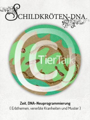 Tiersymbolkarte Schildkröten-DNA