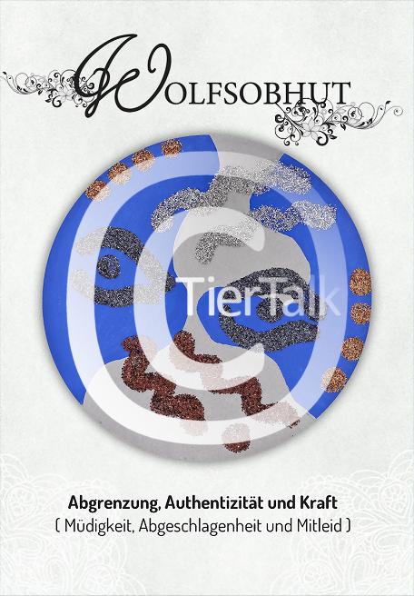 Tiersymbolkarte Wolfsobhut
